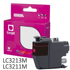 Cartucho Compatible Brother LC3213M Magenta LC3211M 400 pág