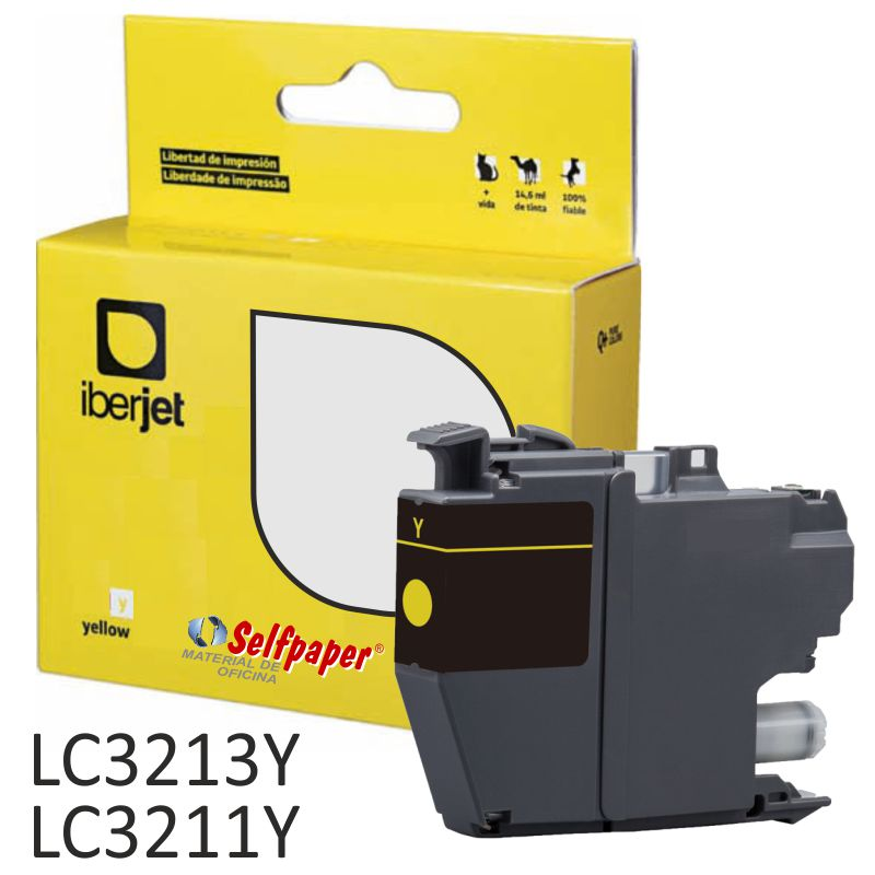 Comprar Cartucho Compatible Brother LC3213Y XL Amarillo LC3211C
