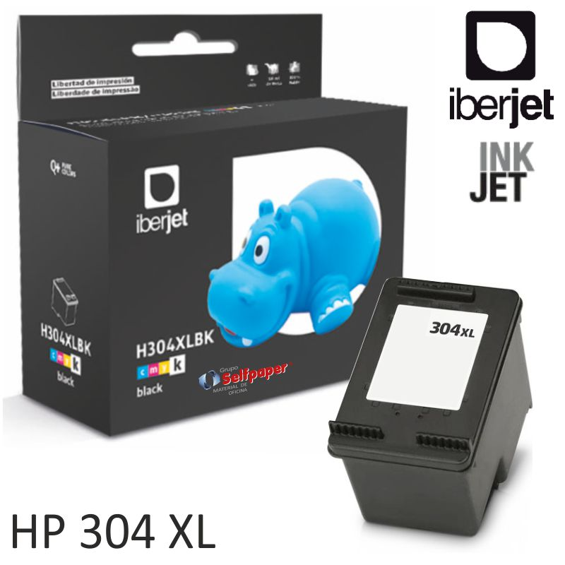 cartucho compatible hp 304 xl negro