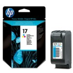 Cartucho HP 17 color tinta impresora C6625A original