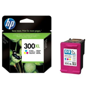 Cartucho HP 300 XL color 440 Pag 300% mas tinta