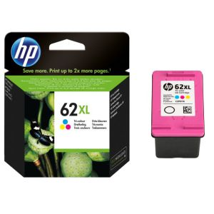 Cartucho HP 62XL Tricolor,