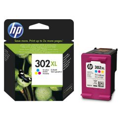 Cartucho Original HP 302XL Tri-color F6U67AE