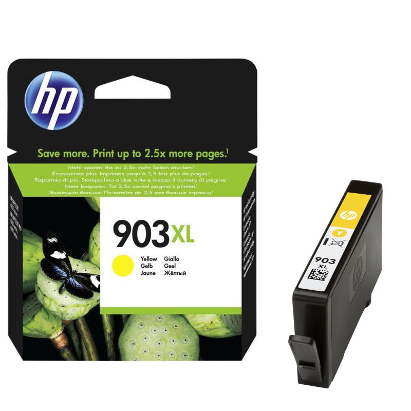 Cartucho Original HP 903XL Amarillo T6M11AE Alta capacidad