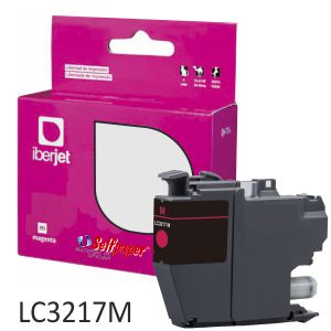 Cartucho Compatible Brother LC3217M Magenta