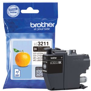 Cartucho tinta original Brother LC3211BK LC-3211-BK