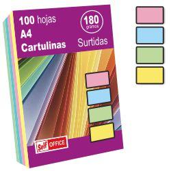Cartulinas Din A4 colores