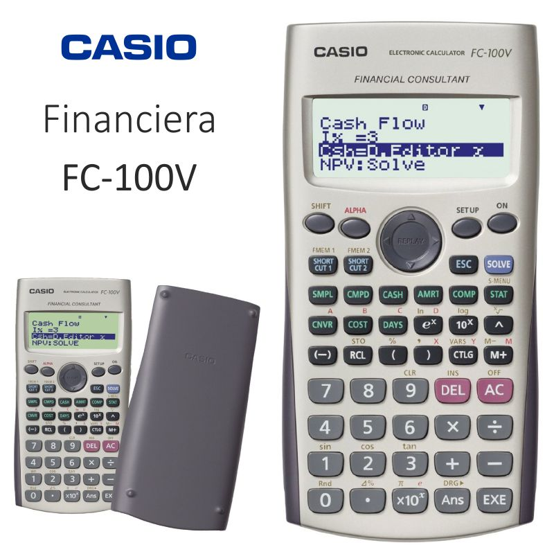 casio fc 100v calculadora financiera