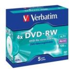 DVD-RW regrabable Verbatim 4x