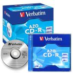 Cd Grabable Verbatim 700Mb 80min 52x Caja ancha
