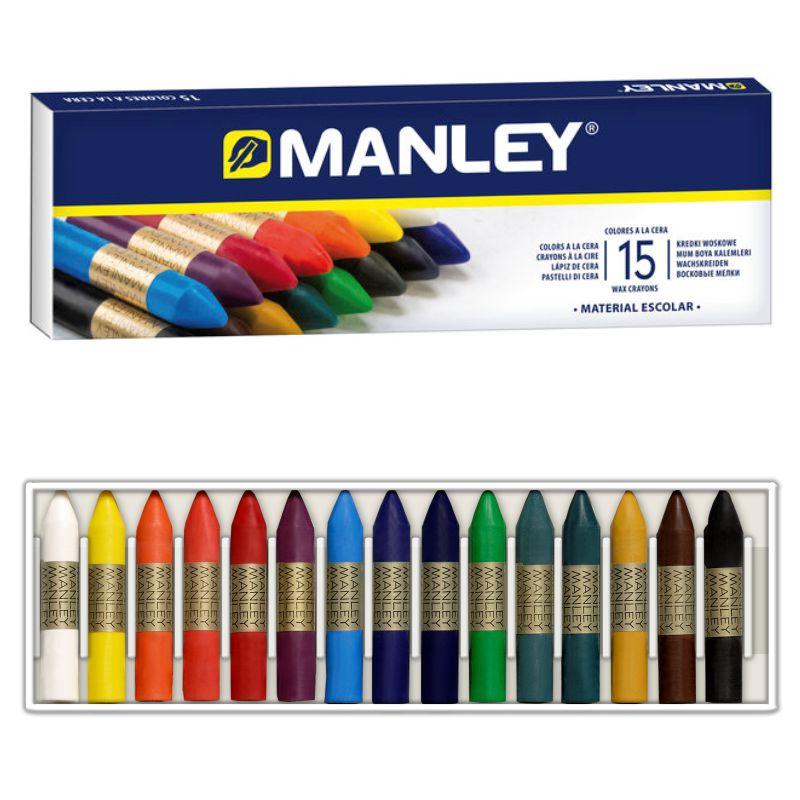 Ceras Blandas Manley 15 Colores Selfpaper Com