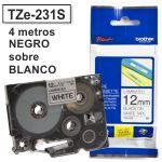 Cinta Rotuladora Brother TZ-231s