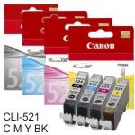 Cartucho Original Canon CLI-521