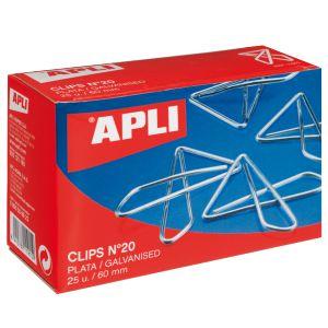 Clips Mariposa Apli 60
