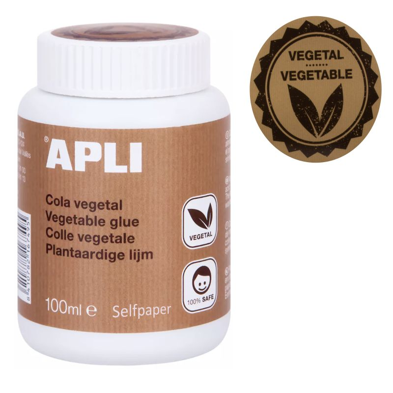 Cola Vegetal Apli 100 ml - 100% ecológica