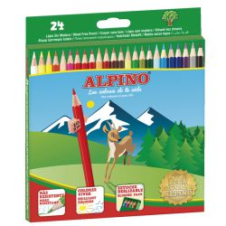 Colores Alpino 24 Lapices de colorear surtidos 658