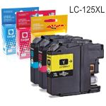 Compatible Brother LC125XLC Cyan,