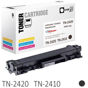 Compatible Brother TN-2420, Toner negro 3000 Pags. TN-2410