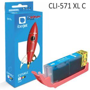 Compatible Canon CLI571XLC color