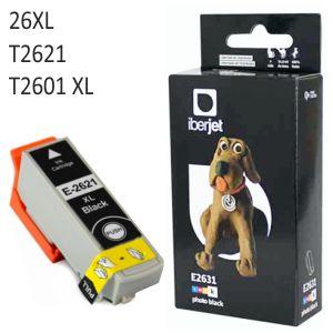 Compatible Epson 26XL Negro,