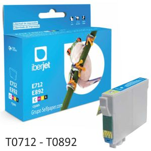 Compatible Epson T0712 T0713 T0714 cada color