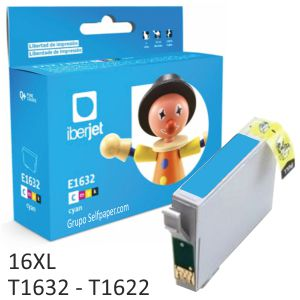 Compatible Epson T1632, T1633, o T1634 16XL