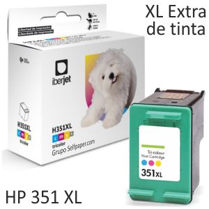 Compatible HP 351XL cartucho tinta color 15ml CB338EE