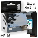 Compatible HP 45 cartucho