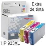 Compatible HP 933XL Cyan, cartucho de tinta XL