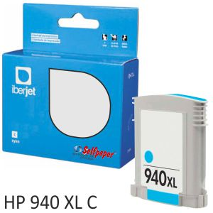 Compatible HP 940XL color Cyan, Cartucho de tinta