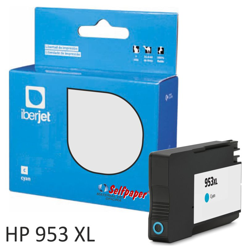 Comprar Compatible HP 953XL color Cyan azul 26ml 1600 Pags