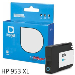 Compatible HP 953XL color Cyan azul 26ml 1600 Pags