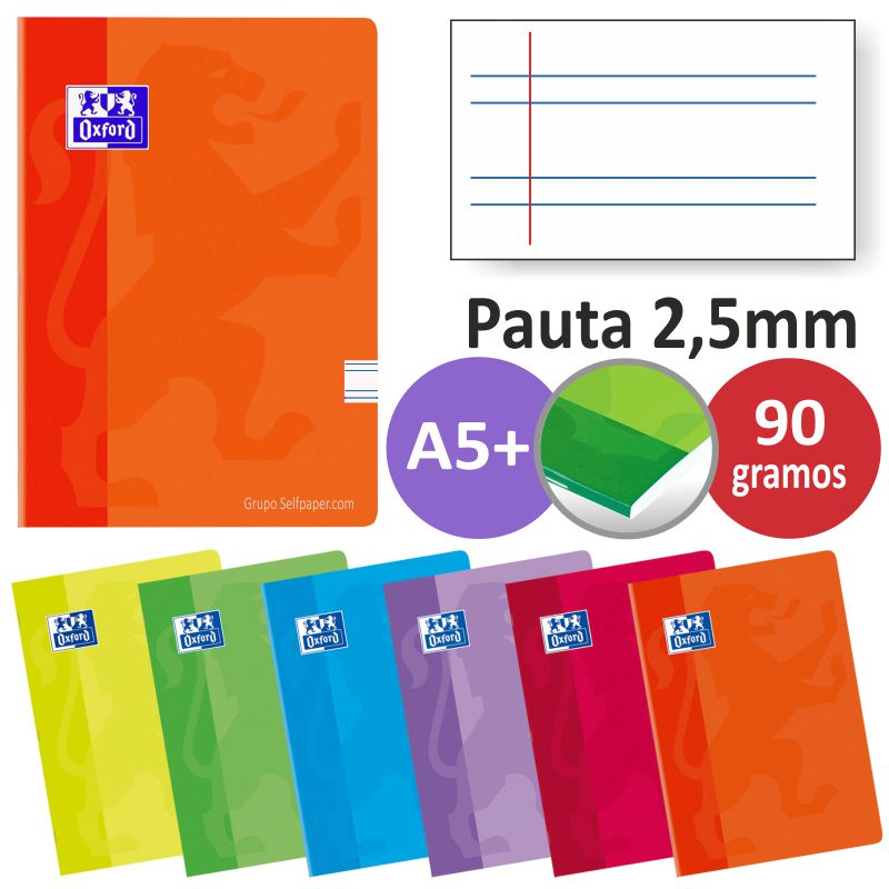 Comprar Cuadernos Oxford grapas, Pauta 2.5 mm, Din A5
