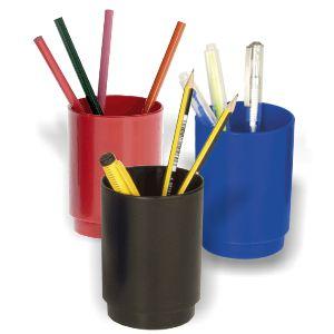 Cubilete Portalapices Plastico colores