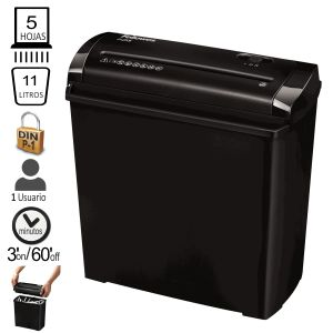 Destructora de papel Fellowes P-25S, economica