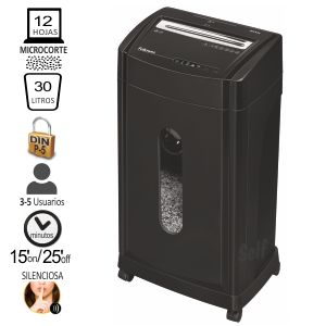 Destructora Fellowes 46MS Nivel P-5 microparticulas