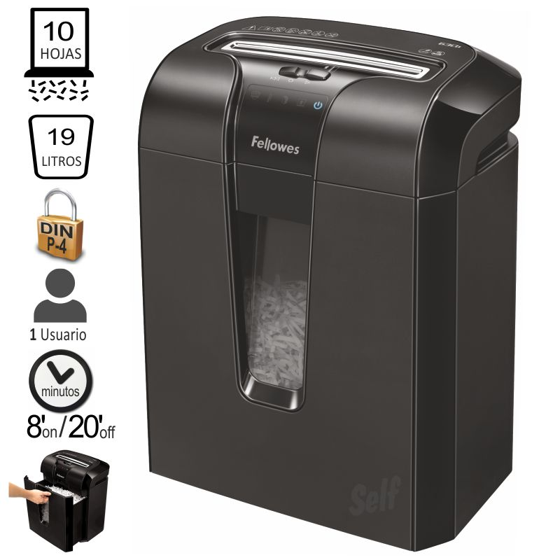 Destructora Fellowes 63CB 10