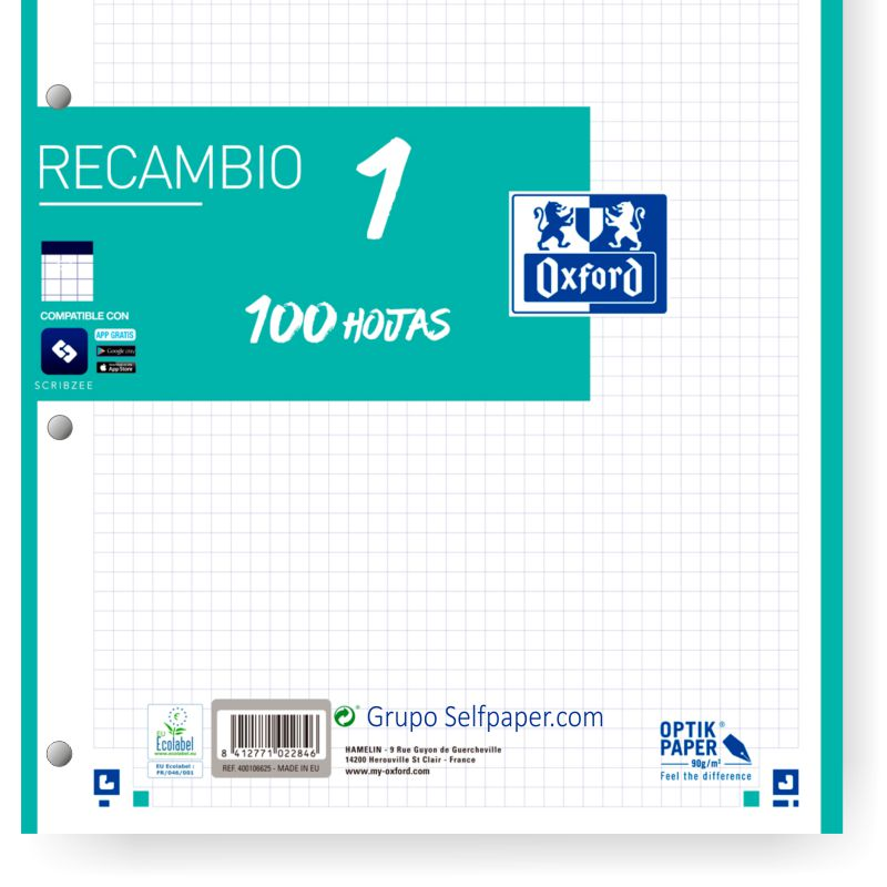 detalle recambio oxford ice mint 400106625