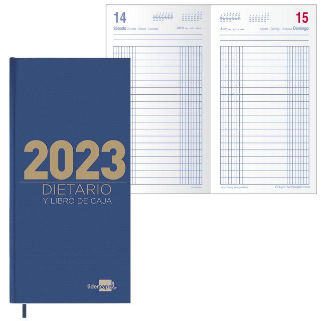 Dietario largo 2020 dos tercios de folio, dia por pagina