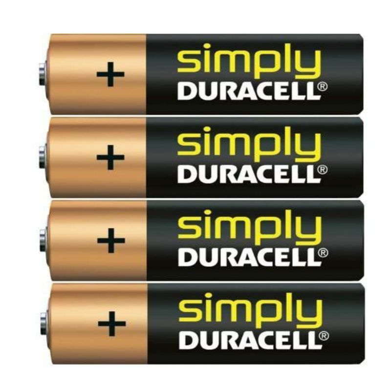 duracell pilas alcalinas simply lr03 aaa mn2400
