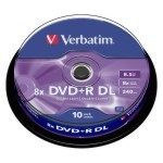 DVD+R DL Verbatim Doble