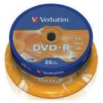DVD-R verbatim bobina 25