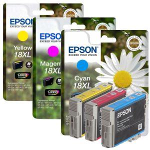 Epson 18XL colores -