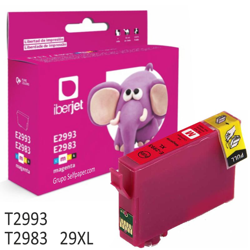 Epson 29XL T2993 T2983 compatible Magenta