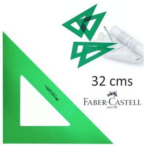 Escuadra técnica Faber-Castell 32
