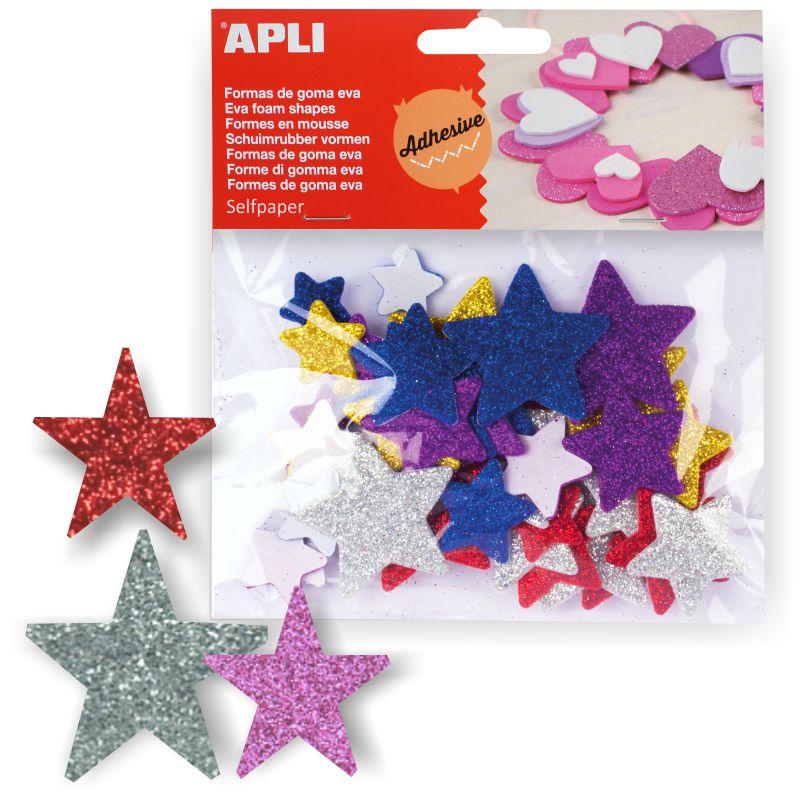 b3936366315 Comprar Estrellas de Goma Eva con Purpurina