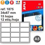 Etiquetas Din A5 manual