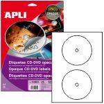 Etiquetas para CD DVD