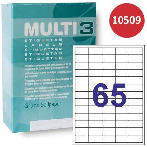 Etiquetas impresora Multi3 10509,