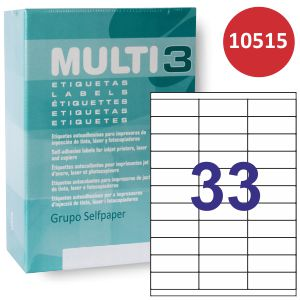 Etiquetas impresora multi3 Din